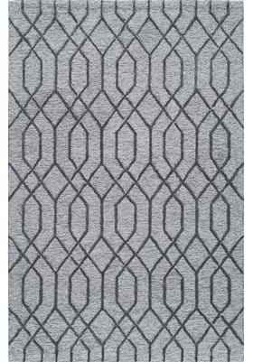 Rugs America 6125A Pewter Gray
