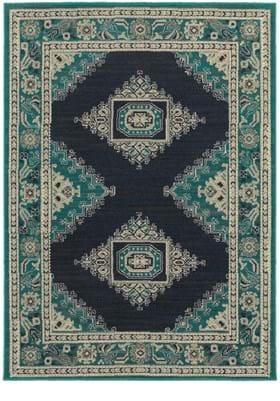 Oriental Weavers 6658A Blue Ivory