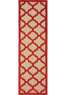 Oriental Weavers 660R Sand Red