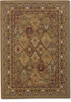 Couristan 8042 Persian Panel 9342 Hazelnut