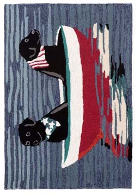 Trans Ocean Stars Stripes and Labs 154803 Water