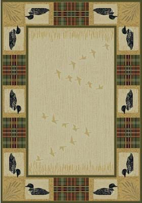 United Weavers 530-41817 Tartan Loon Natural