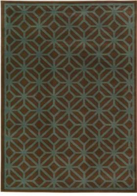 Oriental Weavers 5188D Brown Blue