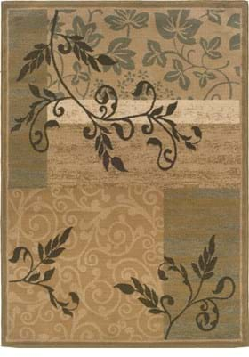 Oriental Weavers 2395C Gold Green