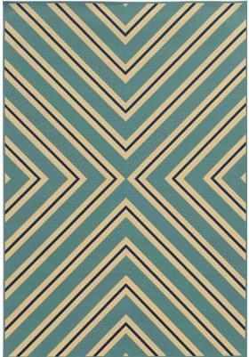 Oriental Weavers 4589J Blue Ivory