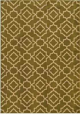 Oriental Weavers 5185D Green Beige