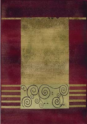 Oriental Weavers 213R Red Beige