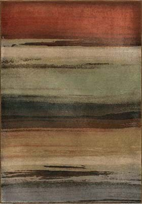 Orian Rugs Washout 3202 Multi