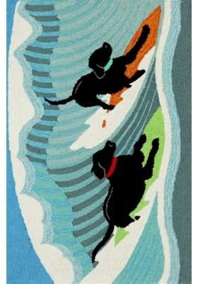 Trans Ocean Surfing Dogs 147304 Ocean
