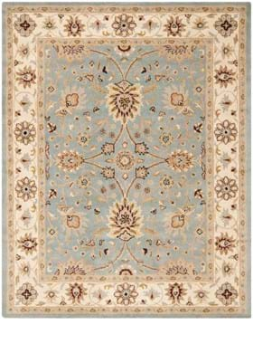 Safavieh AT249A Light Blue Ivory