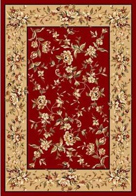 KAS Floral Delight 7337 Red Beige