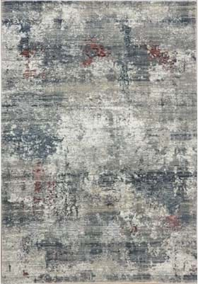 Dynamic Rugs 3370 930 Grey Burgundy