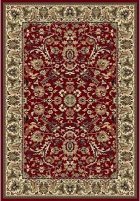 Central Oriental Persian Flower 2067 Crimson
