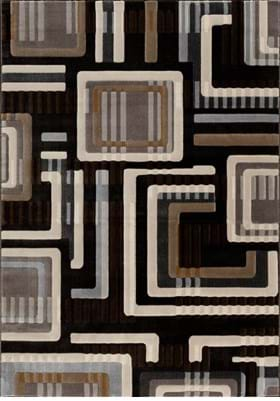 Central Oriental The Grid 9226 Charcoal