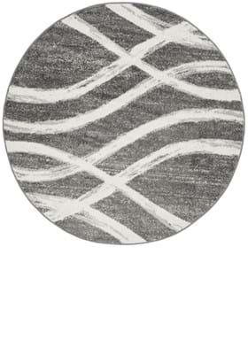 Safavieh ADR125R Charcoal Ivory