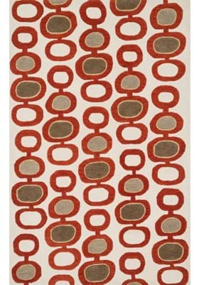 Loloi Rugs NV-02 Ivory Red