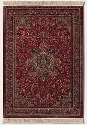 Couristan 0612 All Over Center Medallion 3337 Antique Red