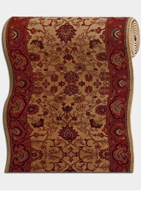 Couristan 3773 Tabriz 4874A Harvest Gold