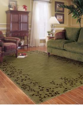 Oriental Weavers 004E1 Green