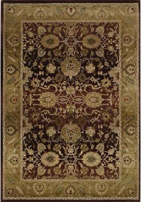 Oriental Weavers 1732M Purple Gold
