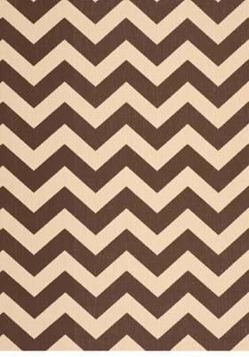 Safavieh CY6244-204 Dark Brown Beige