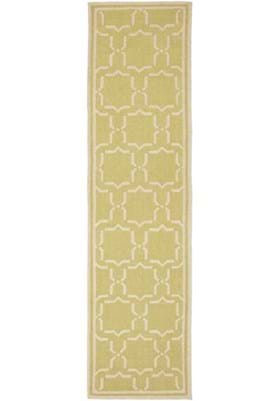 Safavieh DHU545C Light Green Ivory