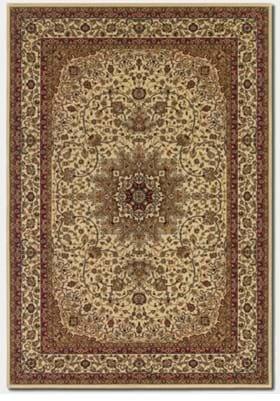 Couristan 7010 Royal Kashan 3000 Ivory