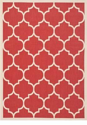 Safavieh CY6914-248 Red Bone