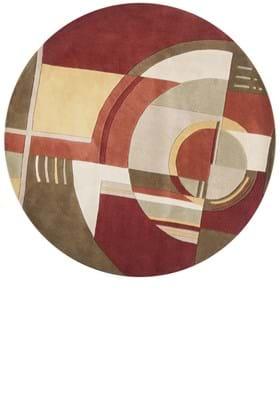KAS Art Deco 9134 Rust Coffee
