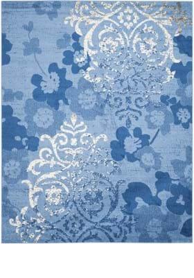 Safavieh ADR114F Light Blue Dark Blue