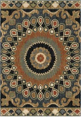 Orian Rugs 4412 Indo China Multi