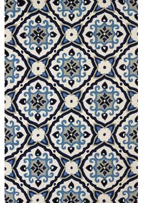 United Weavers Mosaic Medallion 1500-201 64 Navy