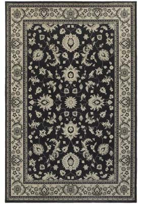 Oriental Weavers 117H Charcoal Ivory