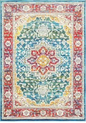 Oriental Weavers 502X Red Multi