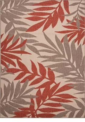 Jaipur Fern BLO08 Birch Jester Red