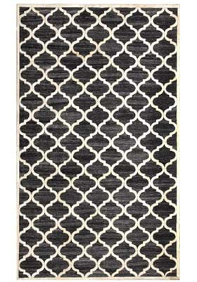 Dynamic Rugs 5967 90 Black Ivory
