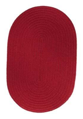 Rhody Rug S-045 Brilliant Red