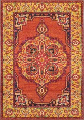 Oriental Weavers 3339Y Orange Yellow
