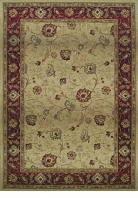 Oriental Weavers 521J1 Beige Red