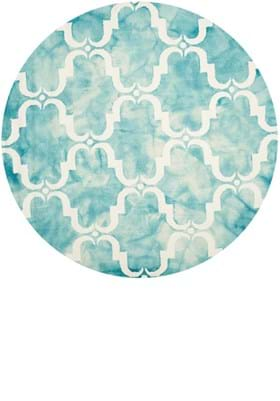 Safavieh DDY536D Turquoise Ivory