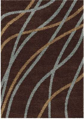 Orian Rugs Gentle Breeze 1732 Brown