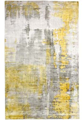 Dynamic Rugs 1601 179 Silver Gold