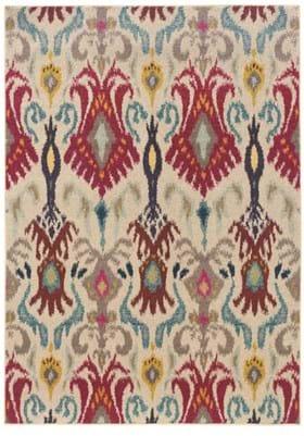 Oriental Weavers 502I Ivory Red