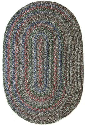 Rhody Rug SO-85 Graphite Gray Multi