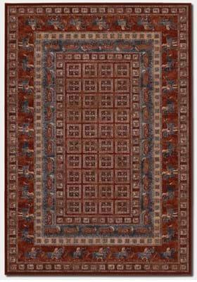Couristan 1660 Pazyrk 1300 Antique Red