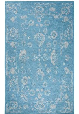 Dynamic Rugs 88800 507 Turquoise Silver