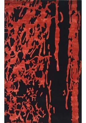 Safavieh SOH326B Black Red