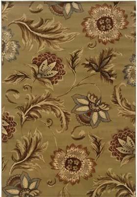 Oriental Weavers 701J Tan Gold