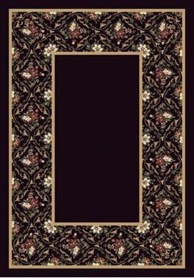 Milliken Bouquet Lace 8539 Onyx 13006