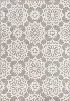 KAS Flora 6419 Grey Ivory